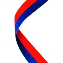 BLUE/RED RIBBON TWO COLOUR